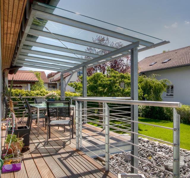 Berühmt Weber Stahl- und Metallbau - Stahl-Glas-Konstruktionen MD05